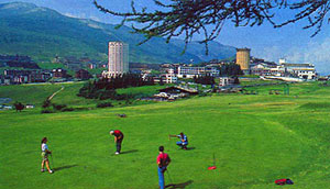 Sestriere d'Estate golf e montagna